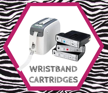 cartridges for wristband printers